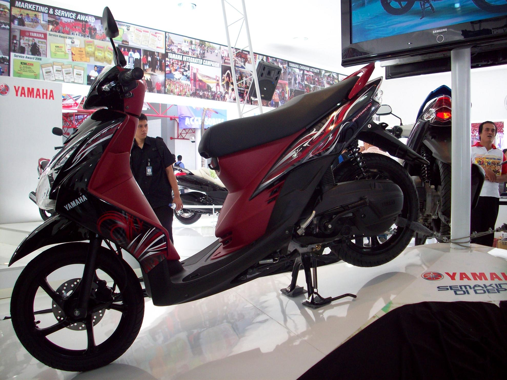 modivication motor: yamaha mio soul 2008 motorcycles designs