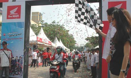 Adu Irit Revo Tangerang, Buat Boncengan 1 Liter Tembus 81,482 23 Mei