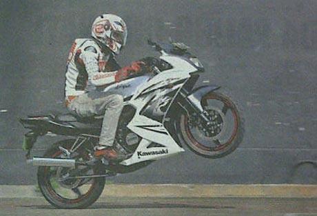 Ninja-150-test