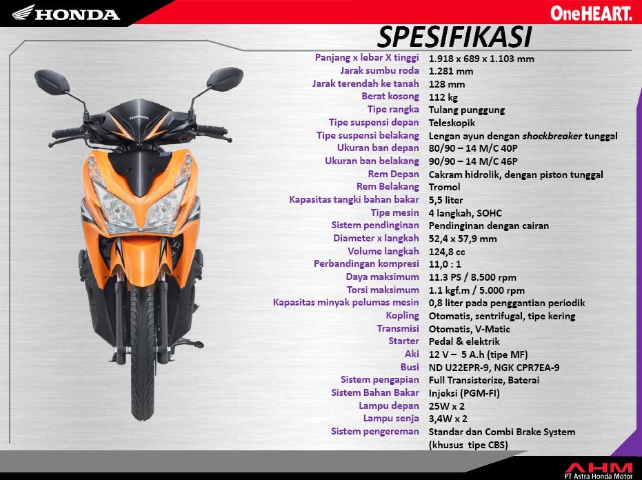 AHM: Honda Vario 125 PGM-FI Lebih Irit 30 Persen Dibanding Vario 110
