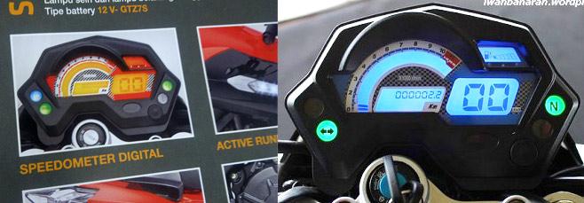 RIDERINDOBLOGSPOTCOM Speedometer Minerva X Road 150S