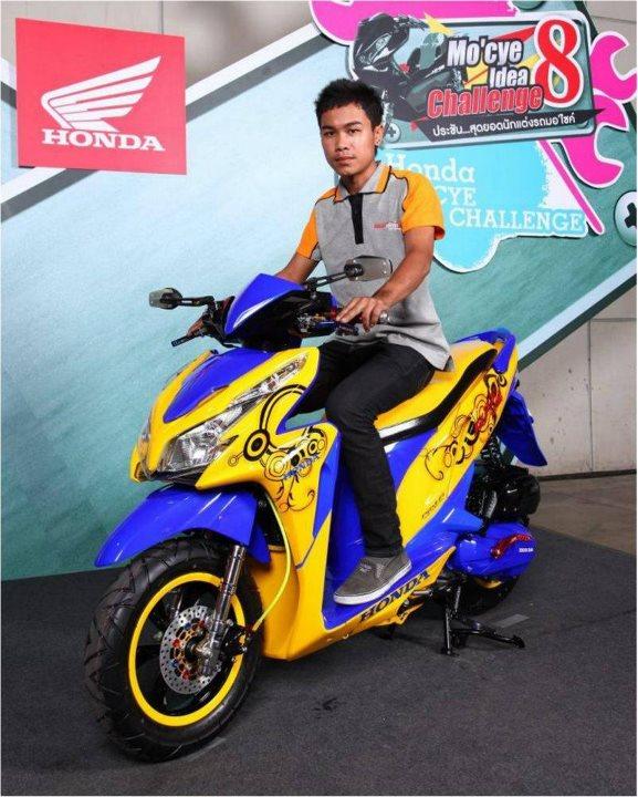 Modif Honda Vario Techno 125 Ala Modifikator Thailand Proud2ride Independent Blogger