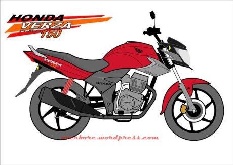 Bisa dipastikan, ketika bulan Januari 2013 besok Honda Verza 150 resmi ...