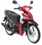 Force Sporty - Red Active (merah kombinasi hitam)