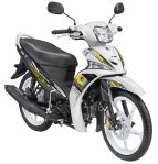 Force Sporty - White Shadow (putih kombinasi hitam)