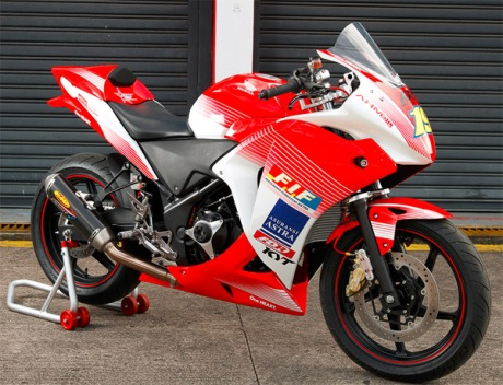 cbr250r astra racing team ART