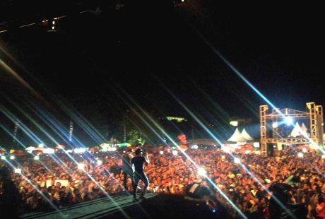 Noah di konser Pesta Semakin di Depan di Banjarmasin