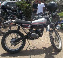 Scorpio Z modifikasi di Slidetober Fest kerjasama Yamaha dan Deus ex Machina Indonesia--