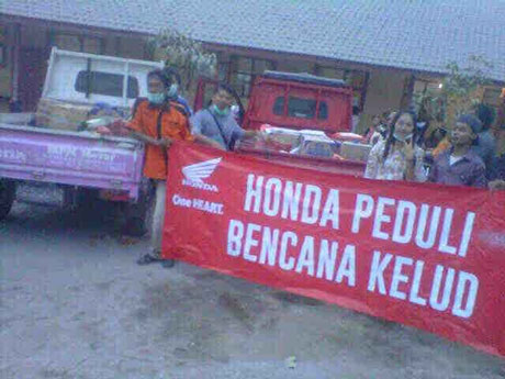 Honda-Perduli-Kelud