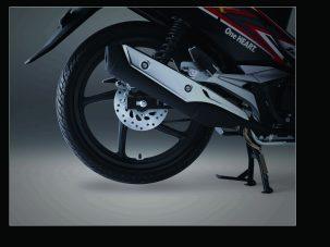 New Supra X 125 FI fitur cakram belakang