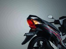 New Supra X 125 FI fitur lampu belakang