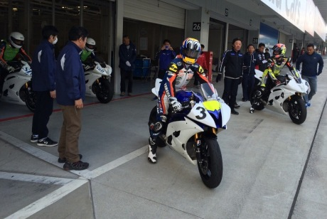 Training Step 1 pembalap Yamaha Indonesia di Suzuka menuju Suzuka 4 Hours Endurance Race