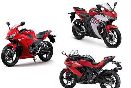 Honda-CBR250R-Yamaha-R25-Kawasaki-Ninja-250-RR-Mono-1