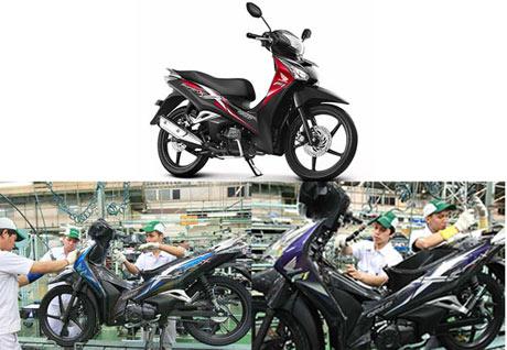 Honda-Supra-X-125-Helm-in-PGM-FI