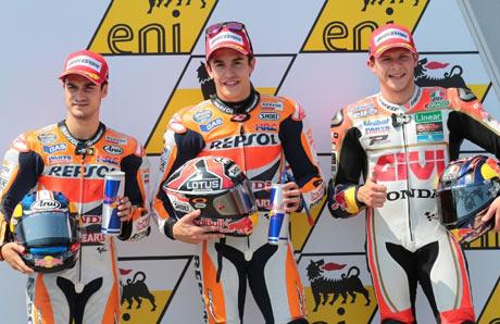 Marquez-Huni-Pole-Position-MotoGP-Jerman