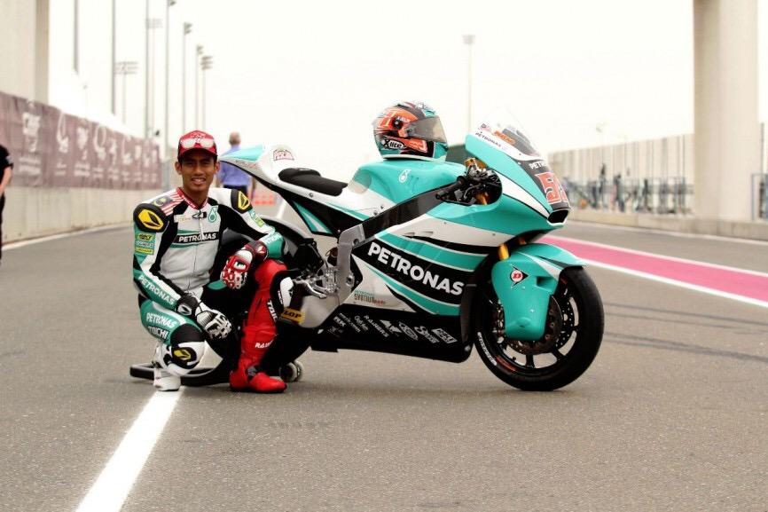 Hafizh Syahrin Pembalap Malaysia Berkibar di Moto2 ...