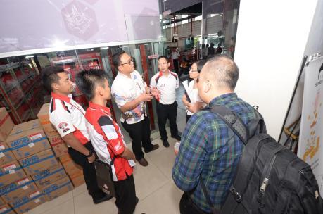 Kunjungan Deputy Menko Perekonomian