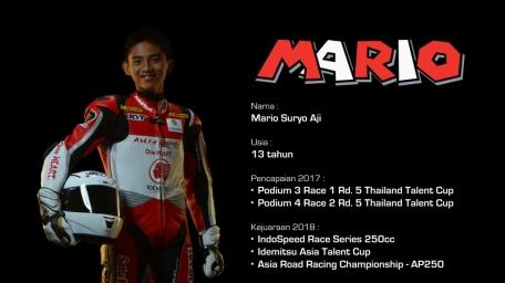 Riders Profile 2018