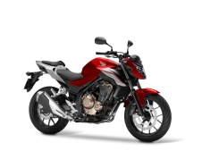 2018 CB500F Candy Cromosphere Red, Force Silver Metallic