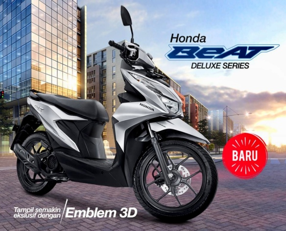 Honda Beat Deluxe Series Cbs Iss Tipe Beat Teratas Yang Tampil Mewah Proud2ride Independent Blogger